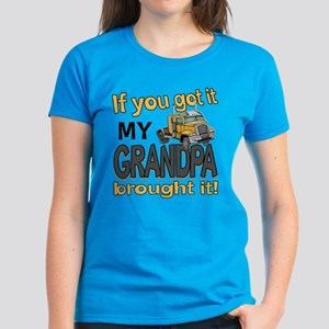 Grandpa Brought it Women's Dark T-Shirt