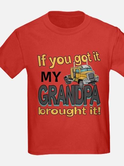 Grandpa Brought it T