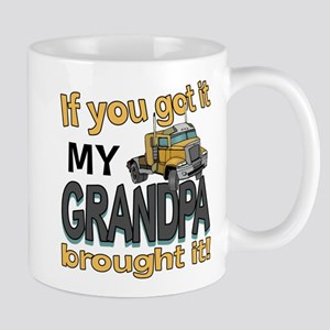 Grandpa Brought it Mug