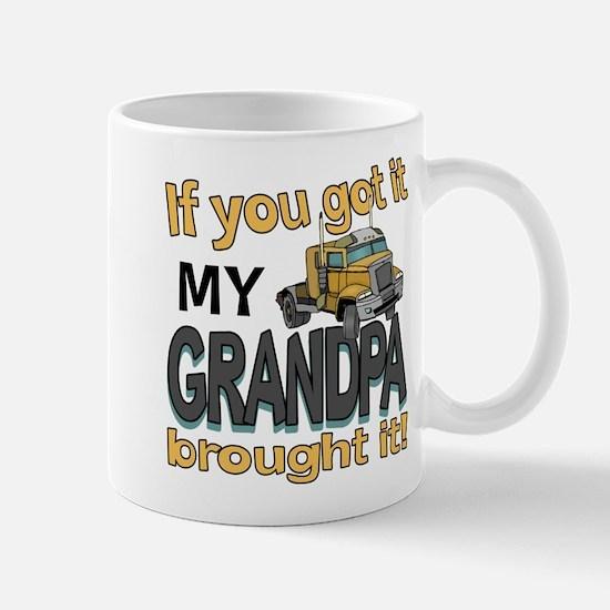 Grandpa Brought it Mug