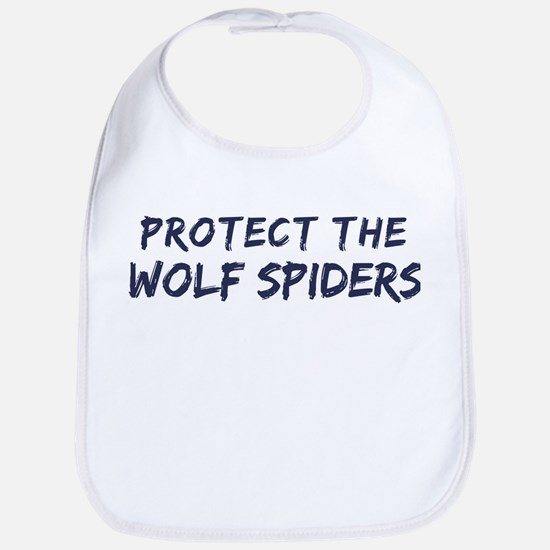 Protect the Wolf Spiders Bib