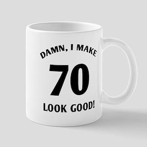 Sexy 70th Birthday Gift Mug