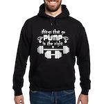 Bodybuilding Pump in the Night Hoodie (dark)