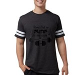 Bodybuilding Pump in the Night Mens Football Shirt
