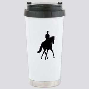 Half-pass Silhouette Stainless Steel Travel Mug