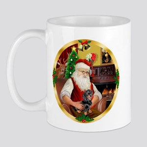 Santa's Dachshund #4 Mug