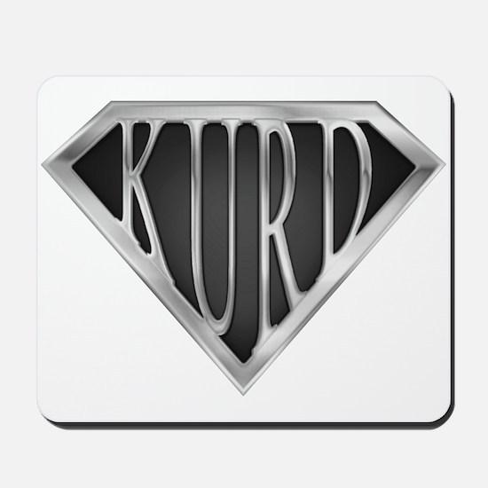 SuperKurd(metal) Mousepad
