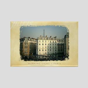 Rectangle Magnet - Paris Apartments