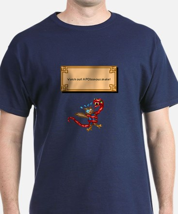 """""""A POIsonous Snake!"""" T-Shirt"""