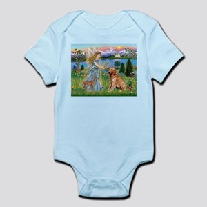 Garden Angel / Golden Sticker Infant Bodysuit