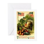 Patriotic Thanksgiving Greeting Cards (Pk of 10)