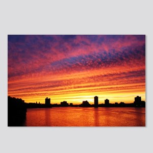 Boston Sunset Postcards (Package of 8)