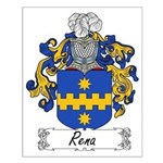 Rena Family Crest Small Poster
