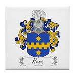 Rena Family Crest Tile Coaster