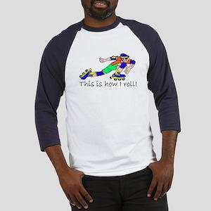 Rollerblading Baseball Jersey
