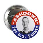 "Pete Ashdown for U.S Senate 2.25"" Button (100 pack"