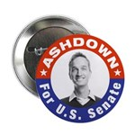 Pete Ashdown for U.S Senate Button