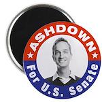 "Pete Ashdown for U.S Senate 2.25"" Magnet (100 pack"