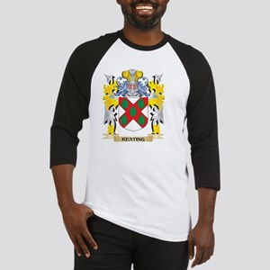Keating Coat of Arms - Family Cres Baseball Jersey
