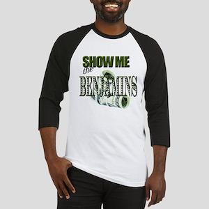 Show Me The Benjamins Baseball Jersey