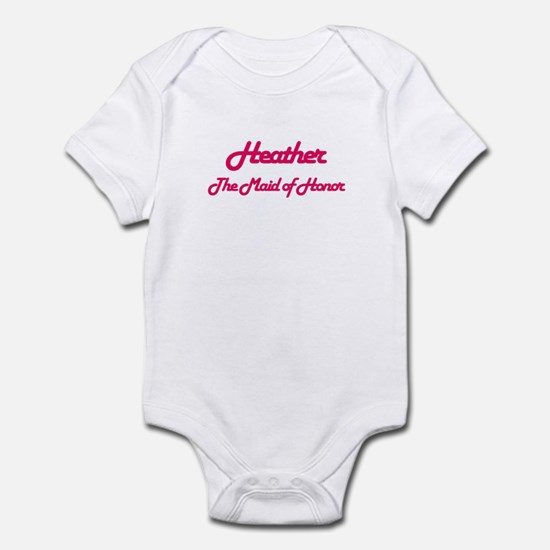 Heather - Maid of Honor Infant Bodysuit