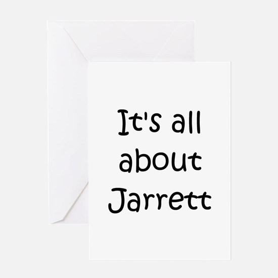 Cute Jarrett Greeting Card