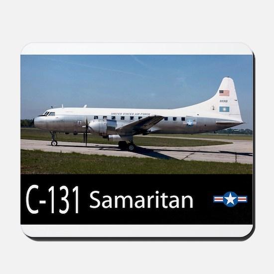 C-131 Samaritan Aircraft Mousepad