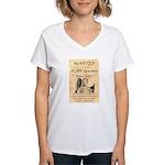 Frank James Women's V-Neck T-Shirt