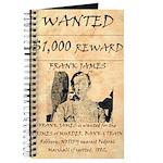 Frank James Journal