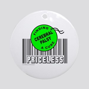 CEREBRAL PALSY FINDING A CURE Ornament (Round)