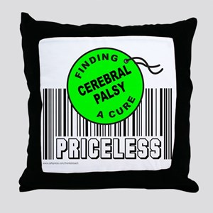 CEREBRAL PALSY FINDING A CURE Throw Pillow