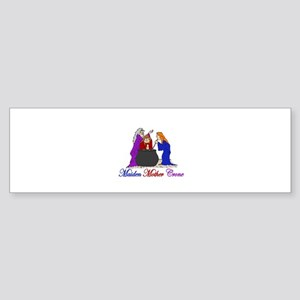 Maiden Mother Crone Bumper Sticker