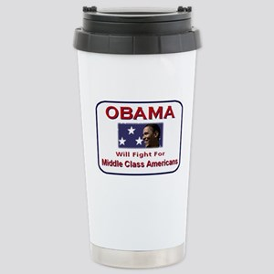 Fight for Middle Class Stainless Steel Travel Mug
