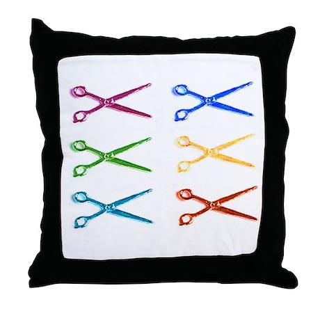 Scissor Throw Pillow