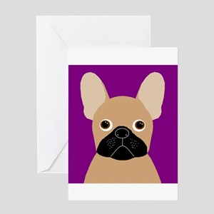 Frenchy (Masked Fawn) Greeting Card