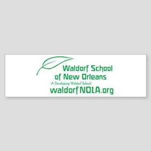 Waldorf School of New Orleans Bumper Sticker