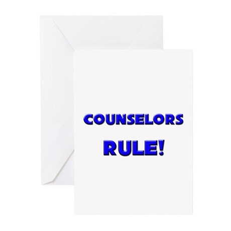Counselors Rule! Greeting Cards (Pk of 10)
