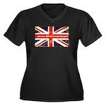 oddFrogg British Friends Women's V-Neck T