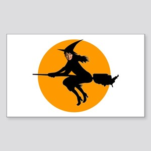 Palin Witch Rectangle Sticker