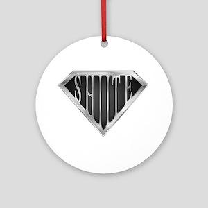 SuperShiite(metal) Ornament (Round)