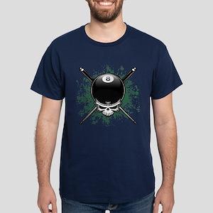 Pool Pirate II splat Dark T-Shirt