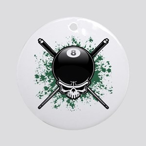 Pool Pirate II splat Ornament (Round)