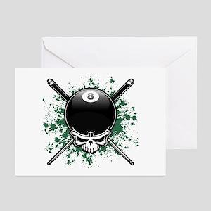 Pool Pirate II splat Greeting Cards (Pk of 10)