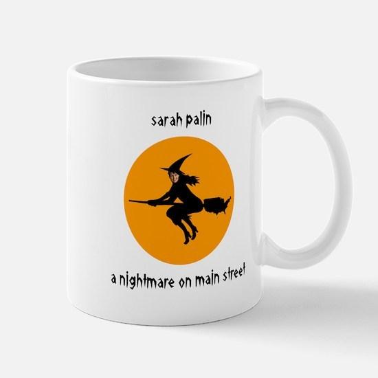 Palin Nightmare on Main St. Mug