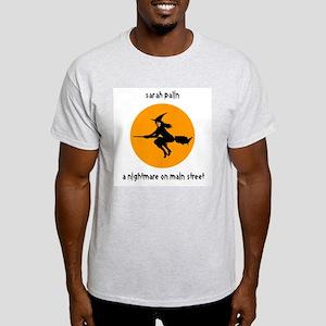 Palin Nightmare on Main St. Light T-Shirt