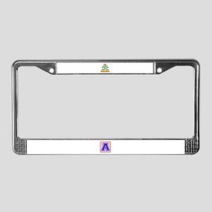 Keep Calm And Go To Nauru Coun License Plate Frame
