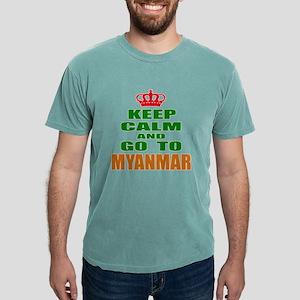 Keep Calm And Go To Mya Mens Comfort Colors® Shirt