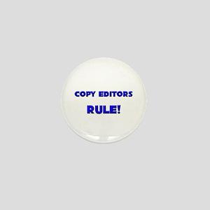 Copy Editors Rule! Mini Button