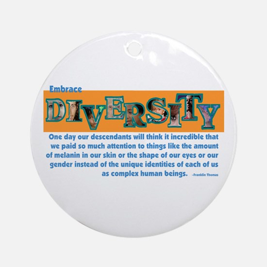 Diversity Ornament (Round)