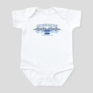 Blue Tribal Cornhole Infant Bodysuit